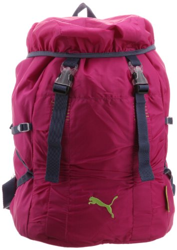 Puma - Zaino sportivo da donna, capacità: 25,5 l, Rosa (raspberry rose-nightshadow blue-lime punch), Taglia unica