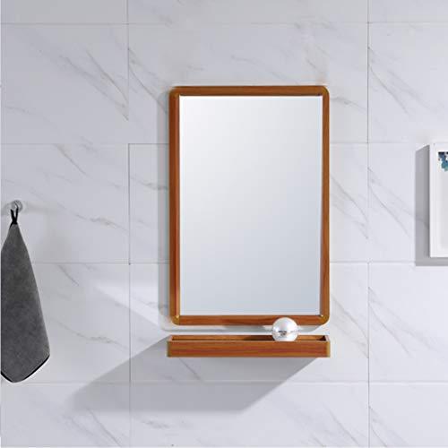 LXYFMS Espejo de baño Colgante de Pared Marco Grande Espejo Plano Espejo de vanidad Lavabo...