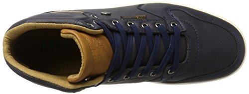 British Knights Ranger, Sneaker a Collo Alto Uomo Blau (Navy/Cognac)
