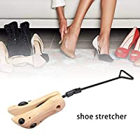 SOWLFE Natural Wooden Shoe Stretcher, Women and Men