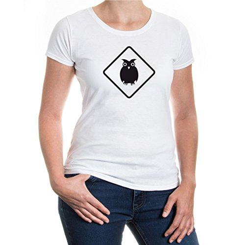 buXsbaum® Girlie T-Shirt UHU White-Black