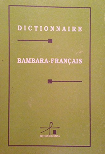 Dictionnaire Bambara / Français par Collectif