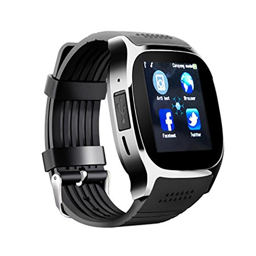 Internet Smartwatches Newest T8 BT3.0 Smart Watch Support SIM and TFcard Camera...
