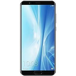 Honor View 10 Smartphone portable débloqué 4G (Ecran: 5,99 pouces - 128 Go - Double Nano-SIM - Android) Noir