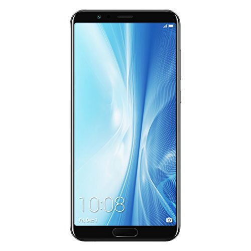 "Honor Ver 10 Smartphone, Preto, 4G LTE, memória 128GB, RAM 6GB, 5.99 Display ""FHD +, Dual Camera + 20 16MP [Italiano]"