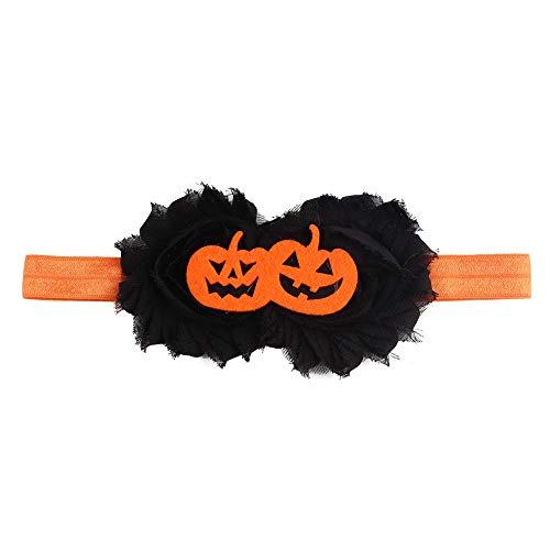 EROSPA® Halloween Stirnband/Haarband mit Kürbis - Babys/Kleinkinder - -