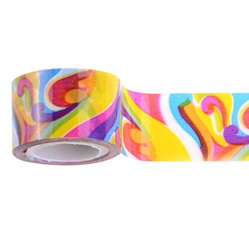 10Rollen 1,2* 2,3m DIY Selbstklebend Sticker Deko Washi Tape