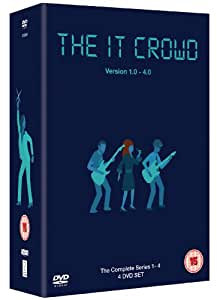 The IT Crowd - Series 1-4 [4 DVDs] [UK Import]