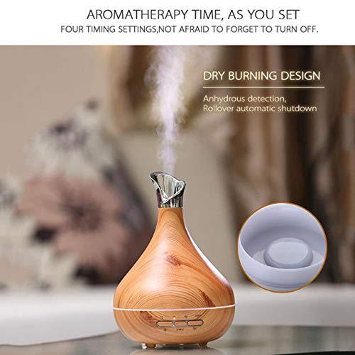 zhang123 300Ml Humidificador Enchufable Máquina De Aromaterapia Lámpara De Aromaterapia Máquina De Aromaterapia Máquina De Aromaterapia De Inducción Inteligente Máquina De Aromaterapia Marrón