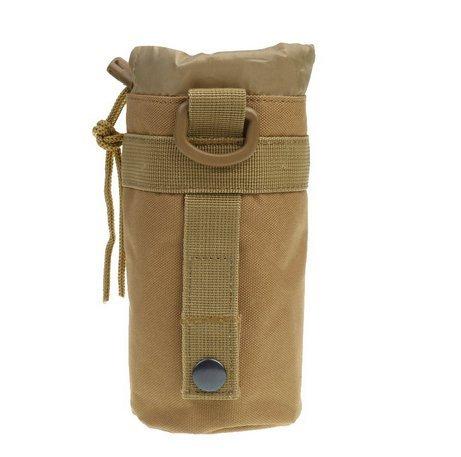 Outdoor-Wasserflaschentasche von E-Greetshopping -  Tragbar, mit Rucksack-/Gürtelhalter, Coyote Tan -