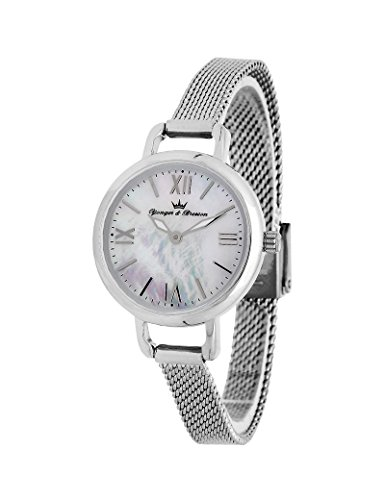 Reloj Yonger & Bresson Mujer Nácar blanca–DMC 051/BM–Idea regalo Noel–en Promo