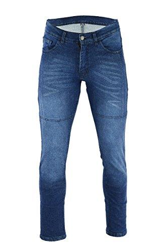 BIKERS GEAR CE 1621-1 Kevlar 34S - Pantalones vaqueros para hombre (talla...