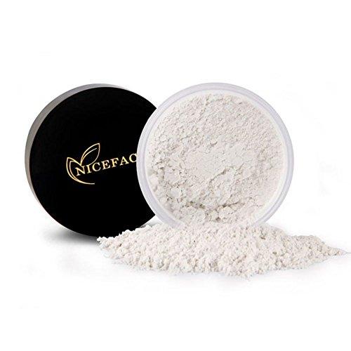 ROPALIA Maquillage Poudre Libre de Visage Poudre Brancissant Poudre de Finition Beauté Cosmétiques (A1)