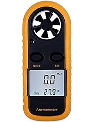 XCSOURCE Calibre de velocidad de viento anemómetro termómetro portátil ...