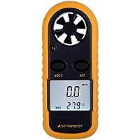 XCSOURCE Calibre de velocidad de viento anemómetro termómetro portátil pantalla LCD TE038