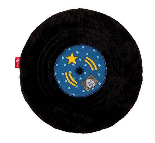 sigikid, Jungen, Schnuffeltuch Schallplatte, Papa & Me, Blau/Schwarz, 41911