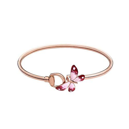 GUCCI Flora 18 kt rosa oro ying-yang YBA389132001017