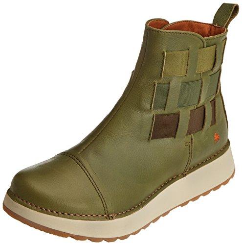 Art Damen Heathrow Kurzschaft Stiefel, Grün (Memphis Kaki 1026), 39 EU (Stiefel Schuhe Art)