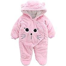 Amazon.es  Pijamas Bebe - Rosa 0aaca6017ae