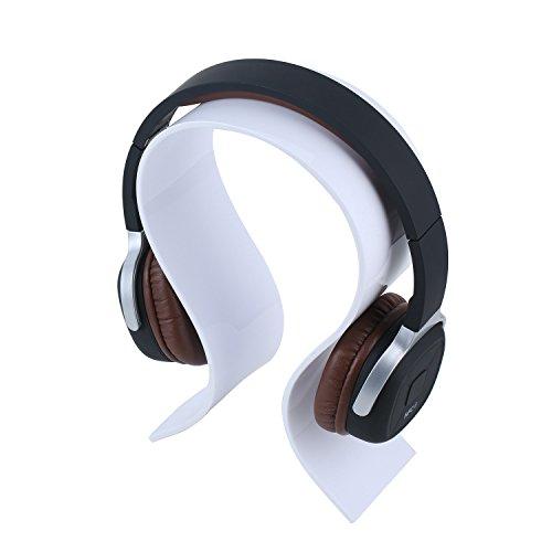 Acryl-Kopfhörer-Ausstellungsstand - Aolvo Portable Universal-Gaming-Headset-Halter Kopfhörer mit Halterung für Xbox One PlayStation Wireless Stereo Headset & More -