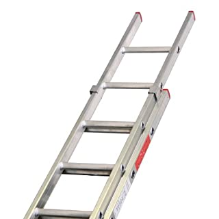 Lyte LYTBD225 2 Section Domestic Extension Ladder - Silver