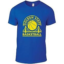 Golden State Baloncesto–Camiseta, azul