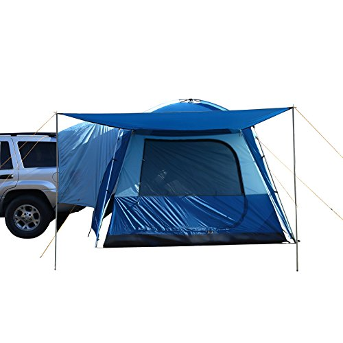 KingC& MEILFI Multi-Purpose 3000mm Waterproof 5 Man 5 Person Family Tent For C&ing Hiking Holiday This Tent Can Be Attached To Any Car ...  sc 1 st  Tents & MEILFI Multi-Purpose 3000mm Waterproof 5 Man 5 Person Family Tent ...