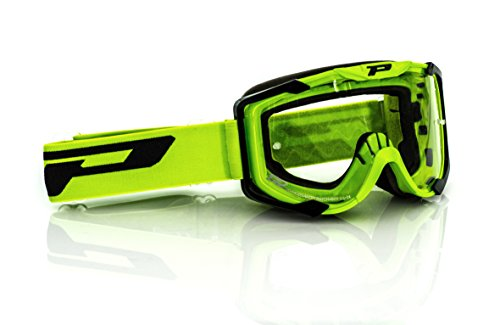 Progrip MX Brille 3400, Grün, Größe uni