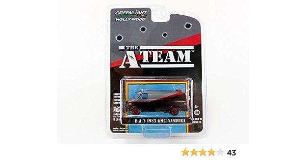 Greenlight Modellauto The Terminator Collection 44790b Schwarz Spielzeug