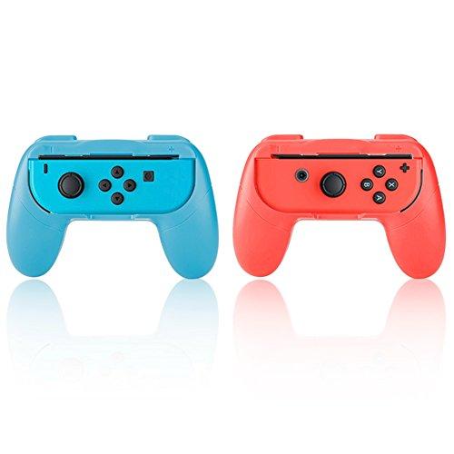 VBESTLIFE, Griff Gamepad, One Paar Game Griff Kit Controller/Spiel Assistenz/Steuerung für beanspruchten Spiele/One Blau und One Rot