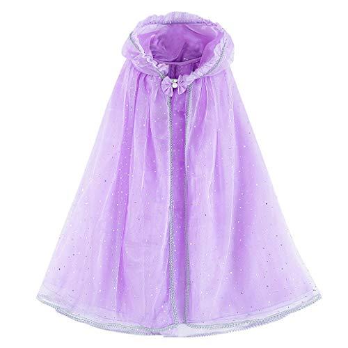 DIASTR Kinder Langarm Prinzessin Mädchen Kostüm Cosplay Phantasie Party Hochzeitskleid Cape Performance Kostüm Cosplay Rock Kleinkind Kleider Outfits Kleidung 3-12 Jahre alt (Katze Kostüm 18 Monat Alt)