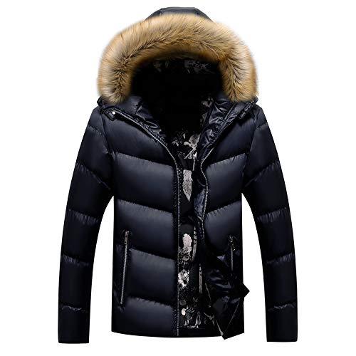 qkl Cotton Herren koreanische Version des Kragens Herren Slim warme Herren Baumwolljacken Herren Herbst und Winter neu