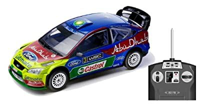Silverlit 86063 - Vehículo radio control (escala 1:16), diseño de Ford Focus WRC por SILVERLIT