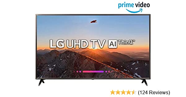 LG 139 cm (55 Inches) 4K UHD LED Smart TV 55UK6360PTE (Black) (2018 model)