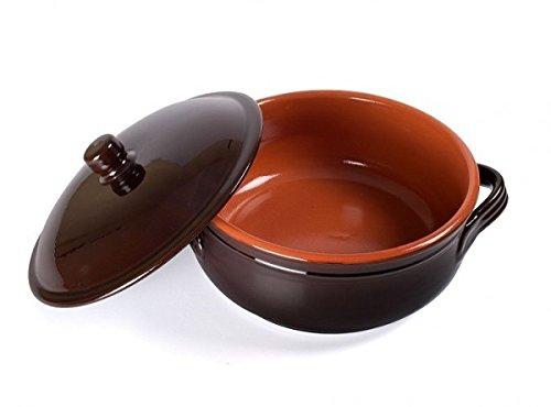 Benegiamo Familia Cocotte en terre cuite avec couvercle 18cm