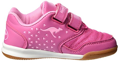 KangaROOS Mädchen Vander Court V Sneaker Pink (MAGENTA/LT ROSE)