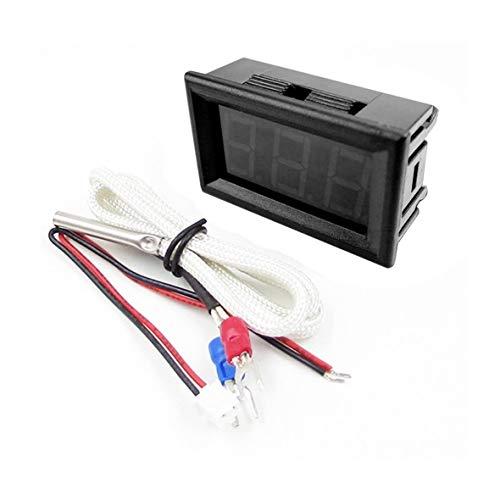 Heaviesk Mini tragbare Thermoelement-Meter-LED-Anzeige industrielles digitales Thermometer -30~800, K-Typ industrieller Messgerät XH-B310 -