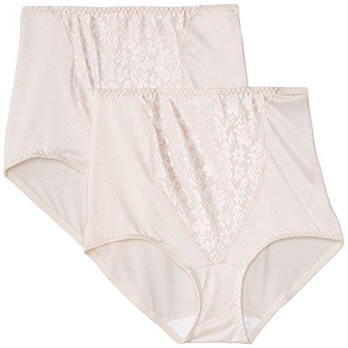 Bali Damen Taillenslip, 2 Pink Bliss, XL (Panties Briefs Bali)