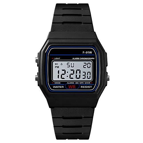 da6aadc9239a OPAKY Hombres Analógico Digital Ejército Deporte LED Impermeable Reloj de Pulsera  Reloj Digital Reloj Digital de Cuarzo con Correa en Acero Inoxidable