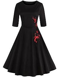 Dissa M131518D Robe de bal Vintage pin-up 50's Rockabilly robe de soirée cocktail,S-XXXXL