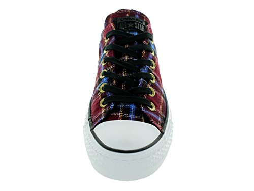 Converse Womens Chuck Taylor Ox Textile Trainers Rouge (Multicolore)