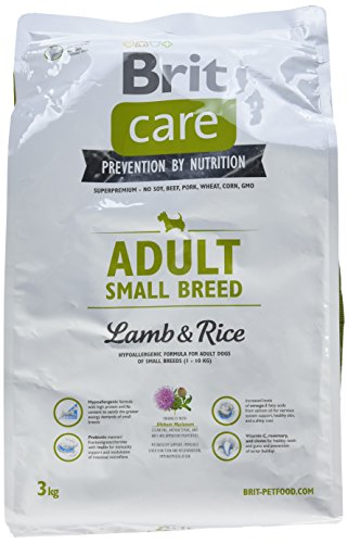 Brit Care Adult Small Breed Lamb & Rice 3kg -