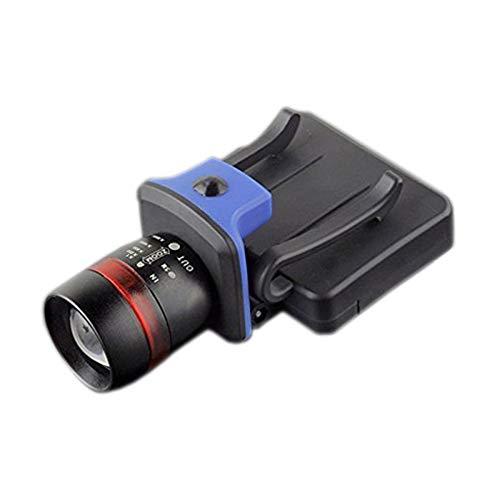 ZLLAN 3 Modi wasserdichter Clip-Scheinwerfer, Cap Hat Light Taschenlampe Scheinwerfer schwarz, 120 Lumen