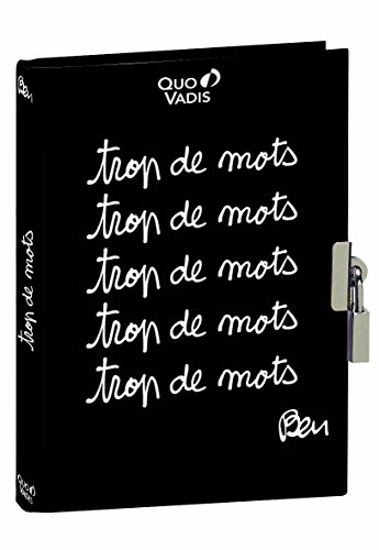 Quo Vadis - Ben - Journal Intime - 256 Pages Papier Blanc 12x17 cm Noir