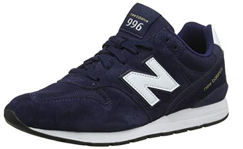 New Balance 996, Baskets Homme, Bleu (Pigment/White Pink), 43 EU