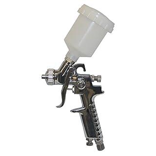 Scratch Doctor HVLP Mini Spray Gun 0.8mm Air Gravity Feed. Ideal for Paint , Alloys etc