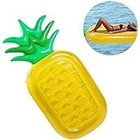 KAIHONG Flotador Gigante de Piña, Tumbona Flotadora/Tumbona de Piscina Juguete para Adultos y