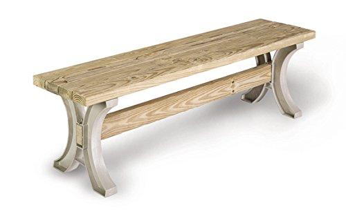 2x4 Bauholz zur Anfertigung von Gartenbank oder Tisch in Wunschgröße (Bausatz)