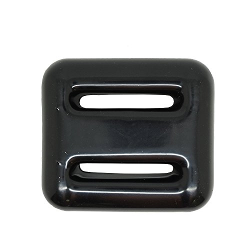Scuba Wahl schwarz Vinyl beschichtet Tauchen führen Gewichte, 1,4kg