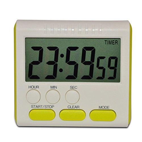 Provide The Best Digital Time Magnetic Große LCD-Digital-Küche-Timer-Alarm-Count Up & Down Uhr 24 Stunden -